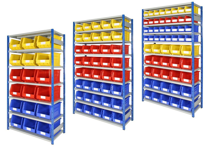Shelving & Parts Bin Kits