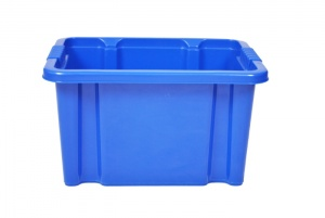 24 Litre Blue Stack and Nest Plastic Storage Boxes