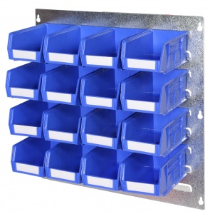 500mm x 500mm Louvre Panel Parts Bin Kit 4