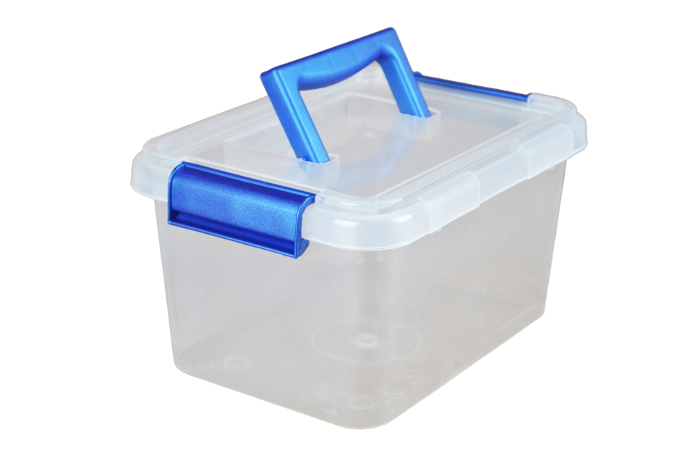 sc 1 st  Plastic Boxes & 3.5 Litre Plastic Storage Boxes with Clip on Lids and Carry Handle