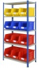 Shelving Bay with 12 Rhino Tuff Bin50 Parts Storage Bins