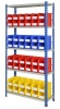 Shelving Bay with 48 Rhino Tuff Bin30 Parts Storage Bins